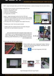 panduan penggunaan USB Vcam