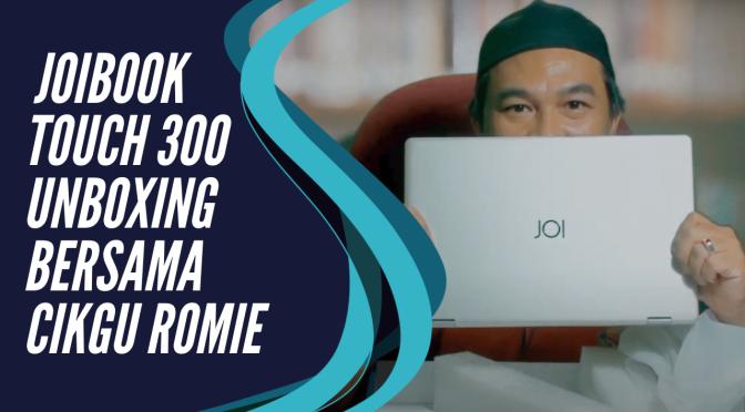 2020 KTCRJ-UNBOXING JOIBOOK TOUCH 300